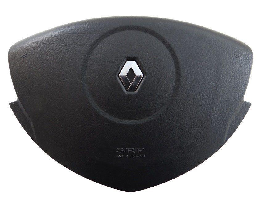 Bolsa Air Bag do Motorista Tampa Buzina do Volante 8200451442 Renault Logan Sandero 08 09 010 011