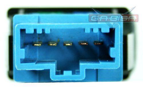 Botão Interruptor de Ar Condicionado do Painel Honda Fit 03 04 05 06 07 08  - Gabisa Online Com Imp Exp de Peças Ltda - ME