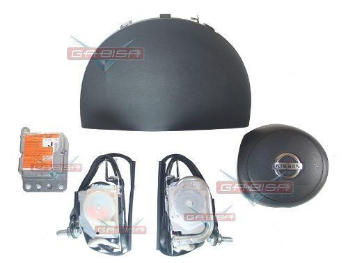 Kit Air Bag Versa 012 013 Duplo Bolsas Modulo Cintos Nissan