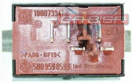 Botão Interruptor De Trava De Vidro Elétrico Traseiro Do Painel 5u0959859b 10007334 Vw Gol Voyage G5 08 09 010 011 012