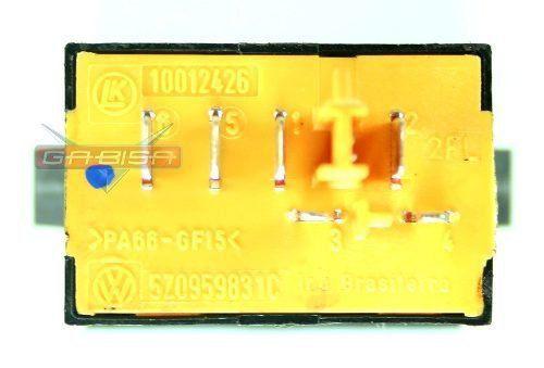 Botão do Painel Interruptor De Abertura do Porta Malas 5z0959831c  Vw Fox Cross Space 09 010 011 012 013