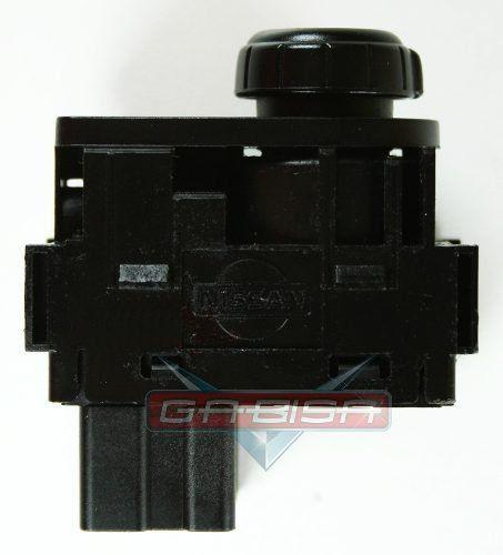 Botão Interruptor de Regulagem do Retrovisor Elétrico Nissan Frontier 03 04 05 06 07 08
