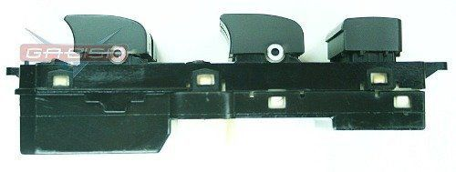 Conjunto Botão Interruptor De Vidro Elétrico Porta Motorista 202005436 Gm Captiva 09 010 011 012 013