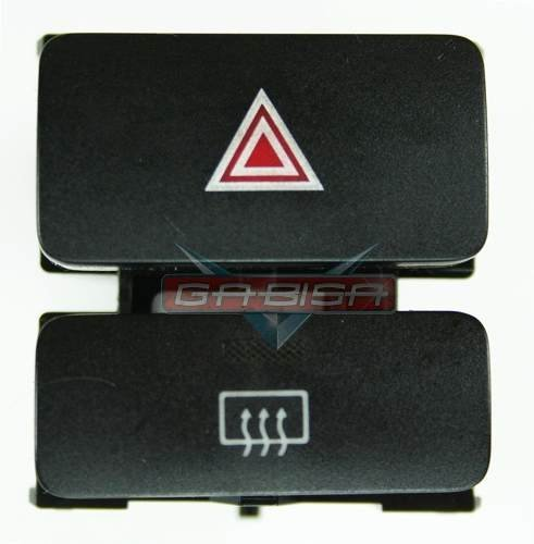 Botão do Painel Interruptor De Pisca Alerta Luz de Emergencia E Desembaçador Traseiro Toyota Corolla E Fielder 03 04 05 06 07 08