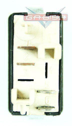 Botão Interruptor De Desembaçador Traseiro do Painel 541959621 81ag18c621ba Ford Escort 87 88 89 90 91 92 Versailes 92 93 94 95 96