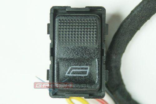 Botão Interruptor  Audi A3 97 Á 99 De Vidro Dianteiro Direito