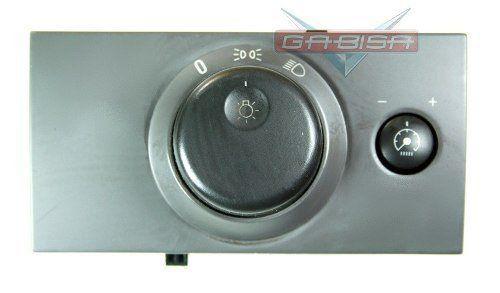 Botão Interruptor De Farol E Reostato Luz Do Painel Original 93332941 Gm Meriva 03 04 05 06 07 08 09 010 011 012