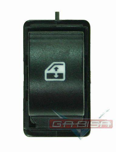 Botão Interruptor de Vidro Elétrico Simples Traseira Cinza Fiat Punto Linea 08 09 010 011 012