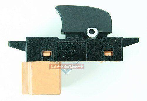 Botão Interruptor Simples De Vidro Elétrico Gm Captiva 09 010 011 012