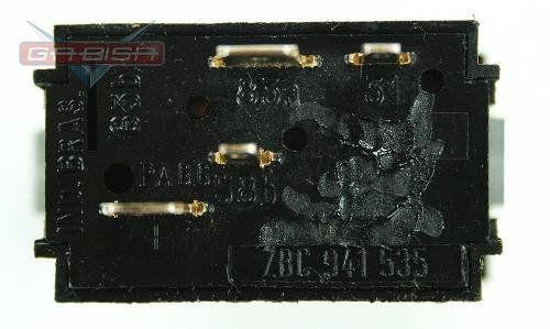 Botão Interruptor Vw Passat 84 Á 88 D Milha P Painel