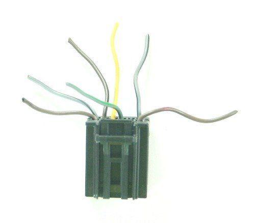 Plug Conector Chicote do Botão Interruptor De Lanterna Farol Milha E Neblina AUTO Reostato Regulagem de Luz Iluminação Do Painel 7 Pinos 251502 94725718 Gm Agile E Montana 011 012 013 014 015 016