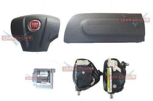Kit Air Bag Siena 2012 Duplo Bolsas Modulo Cintos Fiat