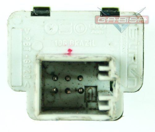 Botão Interruptor de Trava do Vidro Traseiro da Porta 6q0959859 Vw Polo 03 04 05 06 07 08 09 010