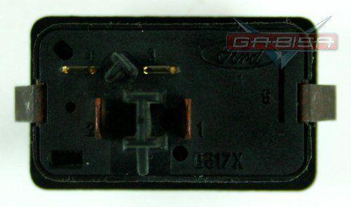 Botão Interruptor Do Desembaçador Traseiro do Painel Fiesta 95 96