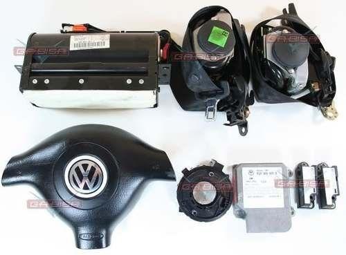 Kit D Air Bag Do Painel Modulo 6q0909605b P Passat E Variant