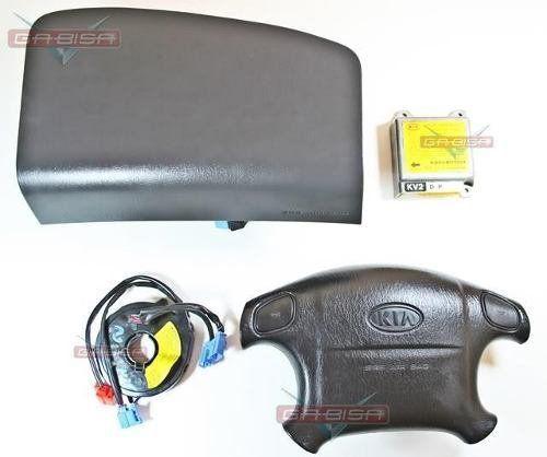 Kit Air Bag Carnival 01 Do Painel Modulo 0k553677f0a P Kia