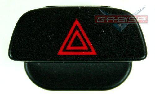Botão Interruptor Ford Focus 08 013 De Pisca Alerta Preto