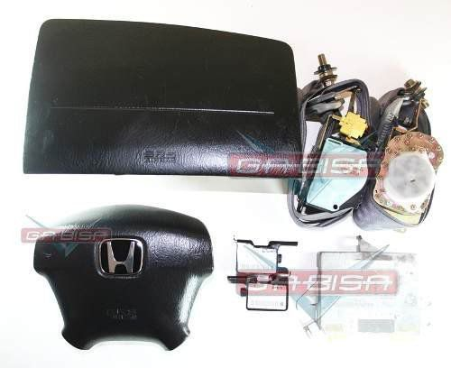 Kit Air Bag Bolsas Cintos Modulo Sensores Honda Civic 01 02 03 04 05