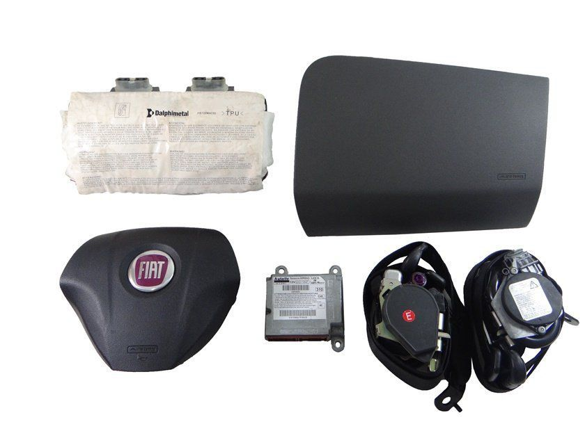 Kit Air Bag Bolsas Modulo Cintos P Fiat Punto E Linea 08 011