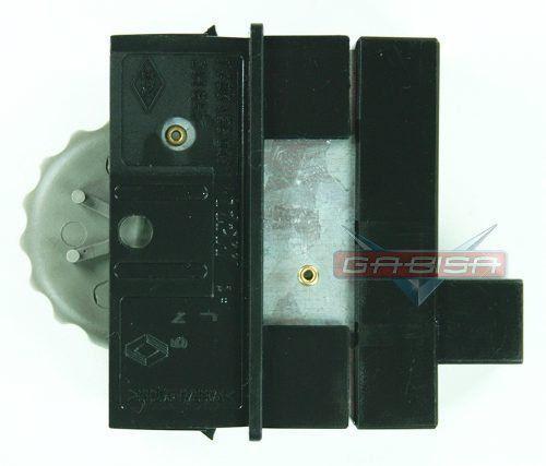 Botão Interruptor Reostato Regulagem de Luz Iluminação do Painel Cinza Claro TRW 7700436047 Renault Clio Scenic 02 03 04 05 06 07 08 09 010 011