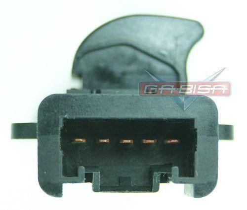 Botão Interruptor de Vidro Elétrico Traseiro Direito ou Dianteiro Direito S5a5 M20013 Honda Civic 01 02 03 04 05 06