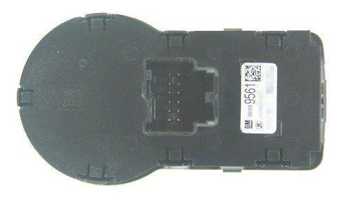 Botão Interruptor de Farol Milha Neblina Reostato Altura 96989561 Gm Agile 010 011 012 013 014