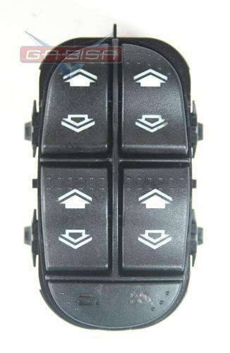 Conjunto Botão De Vidro Elétrico Motorista Original 2m5t14a132db Ford Focus 03 04 05 06 07