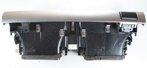Difusor D Ar Central D Painel C Botão Alerta Trava Bmw X5 09