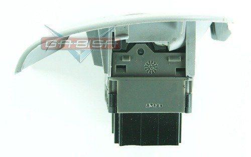 Botão Citroen C3 03 011 De Vidro Elét Tras D Console Cinza