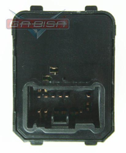 Botão Interruptor de Regulagem do Retrovisor Elétrico Honda Crv 07 08 09 010 011