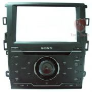Painel Frontal do Cd Player Original Sony Ford Fusion 2013