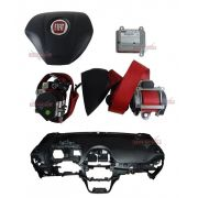 Kit Air Bag Bolsas Cinto Modulo Painel Punto Sporting 012 014
