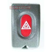 Botão Interruptor Cor Cinza De Pisca Alerta Do Painel 93253179 Gm Corsa Classic 01 02 03 04 05 06 07 08 09 010 011 012