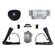 Kit Air Bag Sem Painel Bolsas Fechos Modulo Sensor Original Bmw 120i 08 09 010