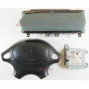 Kit Air Bag Bolsas E Modulo Para Renault Scenic 1997 Á 1999