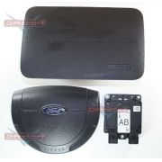 Kit Air Bag Duplo Bolsas Modulo Original Ford Fiesta Class 07 08 09 010 011 012 013 014 015 016