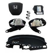 KIt Air Bag New Civic G10 017 Painel Bolsas Cintos Modulo Honda