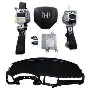 KIt Air Bag Honda Hrv 015 017 Painel Bolsas Cintos Modulo