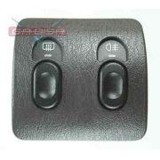 Botão De Neblina E Desembaçador Traseiro Do Painel Chrysler Neon 95 96 97