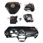 Kit Air Bag Bolsa Cinto Modulo Painel P Fiat Punto 2013 2014