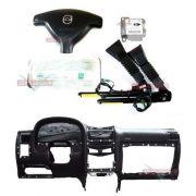Kit Air Bag Bolsas Modulo Fechos E Painel Preto Original Gm Astra 05 06 07 08 09 010 011 012