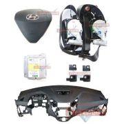 Kit Air Bag do Painel Bolsa Motorista e Passageiro Modulo Par de Cinto e Sensor Hyundai Veloster 012 013 014