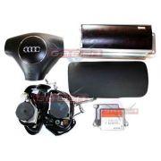 Kit Air Bag Bolsas Cintos Modulo Moldura do Painel Audi A3 01 02 03 04 05