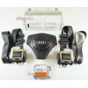 Kit Air Bag Bolsas Cintos Modulo Original Audi A4 2001