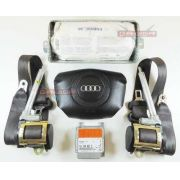 Kit Air Bag Bolsas Cintos Modulo Sem Moldura do Painel Audi A4 98 99 00