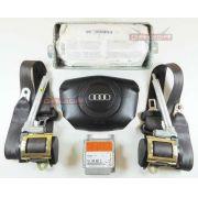 Kit Air Bag Bolsas Cintos Modulo Sem Moldura do Painel Audi A4 98 99 00
