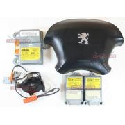Kit Air Bag Bolsa Motorista Modulo Hard P Peugeot 406 2001