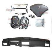 Kit Air Bag Painel Bolsas Modulo Cintos Peugeot 307 10 011 012