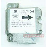 Modulo Central De Air Bag 24416704 Gm Astra Zafira 99 0 01 02 03 04 Plug Verde