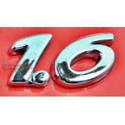 Simbolo Emblema 1.6  Da Mala Para Peugeot 206 99 00 01 02 03 04 05 06